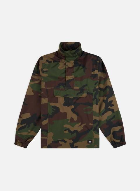Hooded Jackets Vans Pinehurst Anorak Jacket