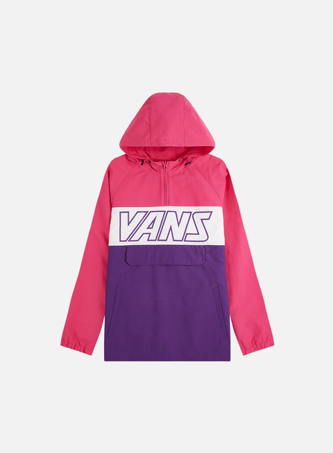 Light Jackets Vans Retro Sport Anorak Jacket