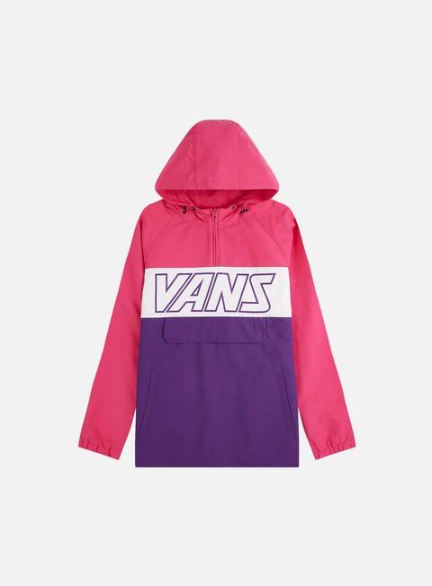 Hooded Jackets Vans Retro Sport Anorak Jacket