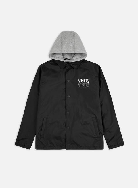 Hooded Jackets Vans Riley Jacket