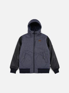 Vans - Rutherford II Jacket, Dress Blues/Black