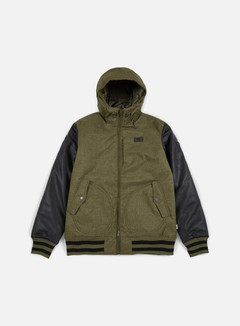 Vans - Rutherford II Jacket, Grape Leaf/Black