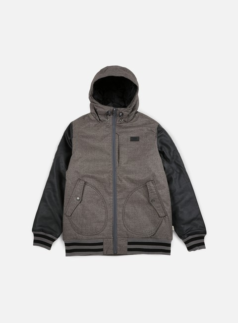 giacche vans rutherford ii jacket gravel black