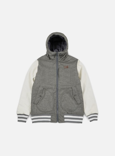 giacche vans rutherford ii jacket pewter marshmallow
