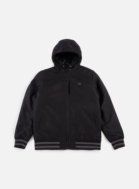 giacche vans rutherford mte jacket black black