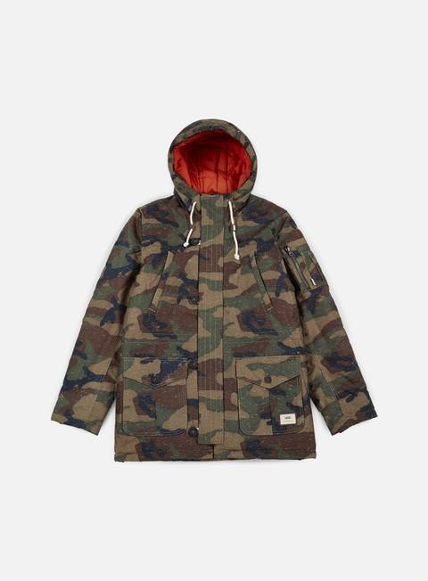 giacche vans talavera jacket camo