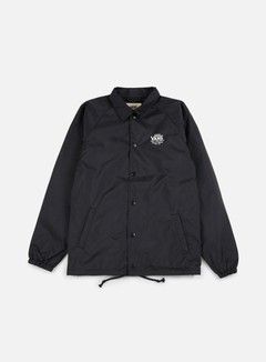 Vans - Torrey Coach Jacket, Black/White
