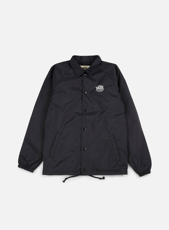 Vans - Torrey Coach Jacket, Black/White