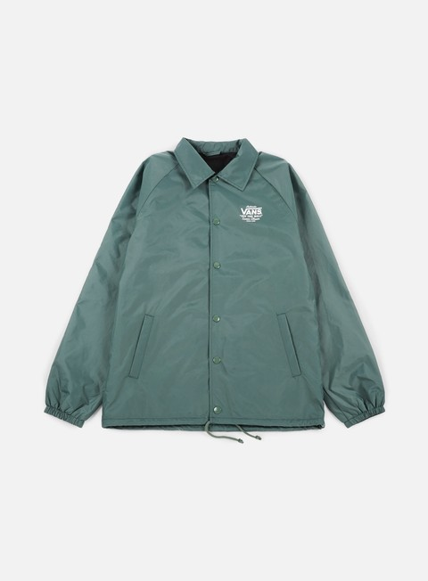 giacche vans torrey coach jacket dark forest