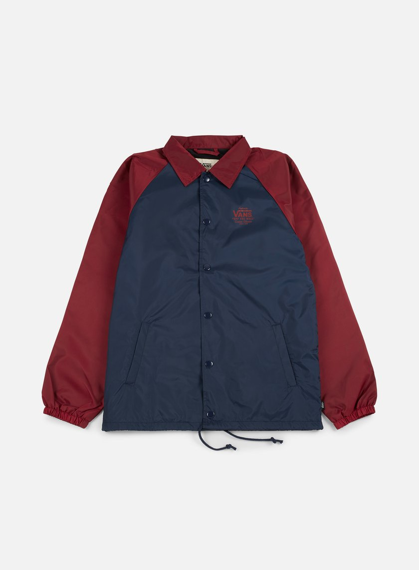 Vans - Torrey Coach Jacket, Dress Blue/Rhubarb