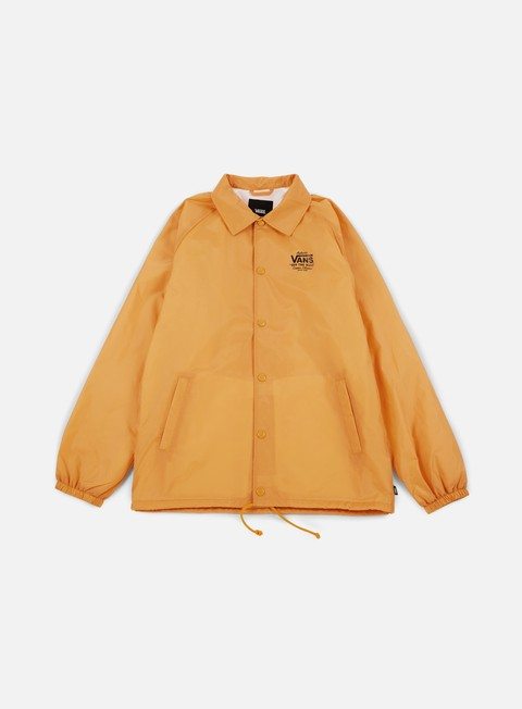 giacche vans torrey coach jacket mineral yellow