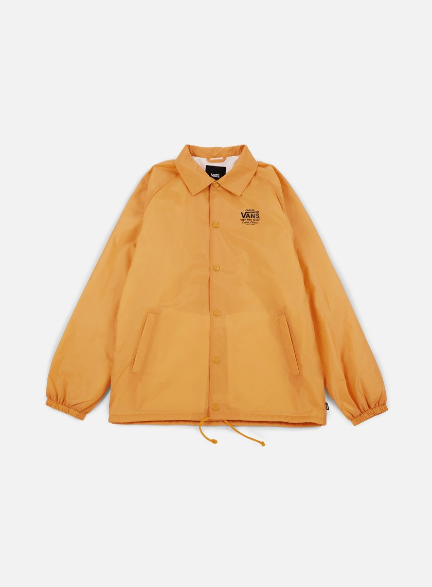 Vans - Torrey Coach Jacket, Mineral Yellow