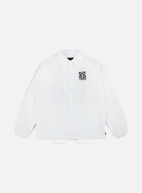 giacche vans torrey coach jacket white black