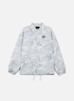 Vans - Torrey Coach Jacket, White Camo