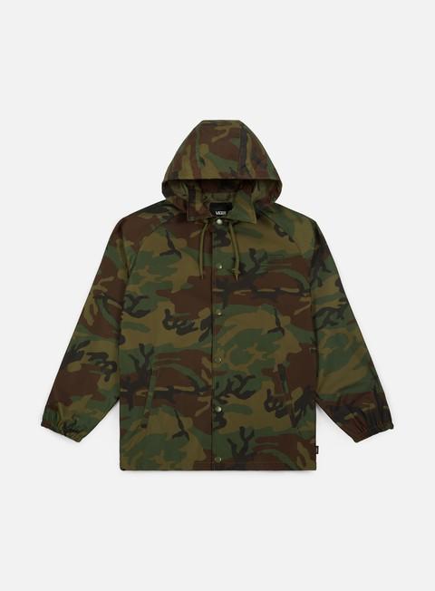 giacche vans torrey hooded mte jacket camo