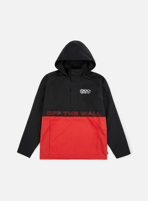 Hooded Jackets Vans Triple Circle Anorak Jacket