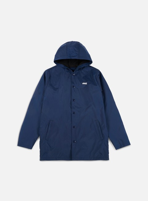 giacche vans turnstall parka jacket dress blues