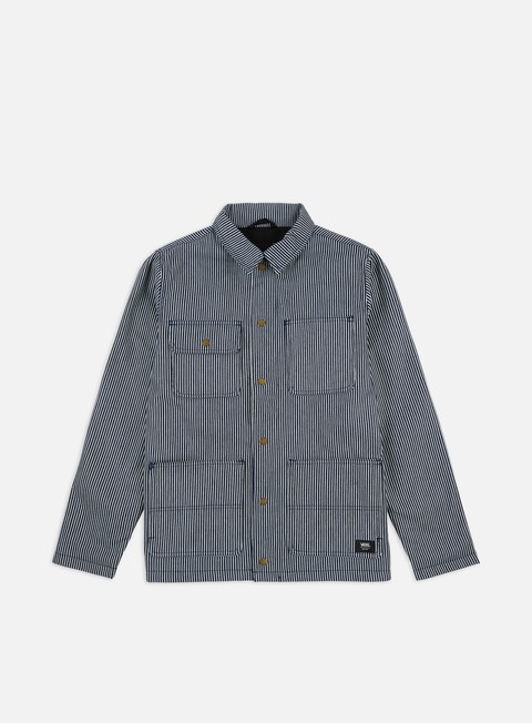 Sale Outlet Light Jackets Vans Vault Hickory Stripe Drill Chore Coat