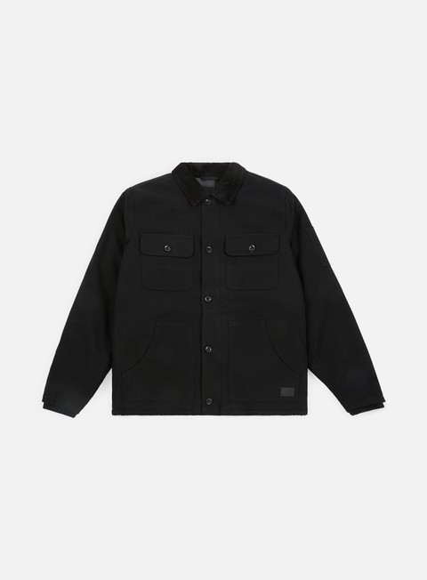 giacche vans weston jacket black