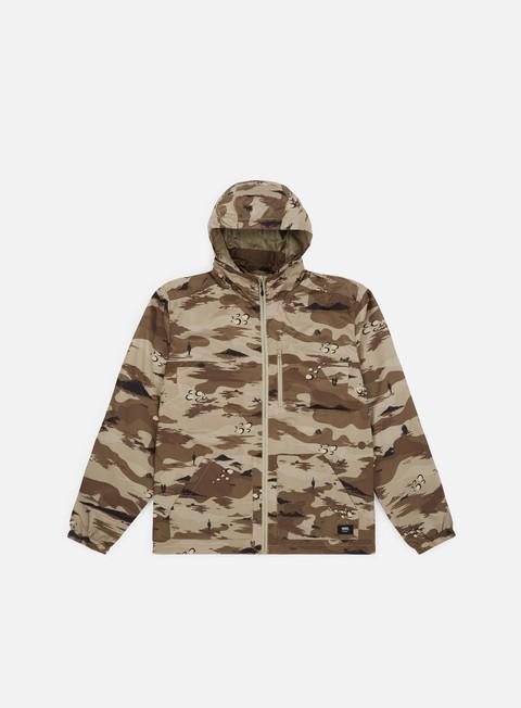 giacche vans woodberry iii jacket storm camo