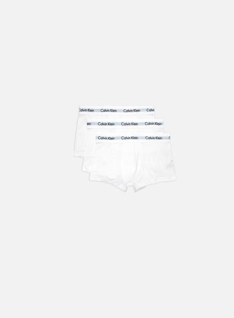 Calvin Klein Underwear Cotton Stretch 3 Pack Low Rise Trunk