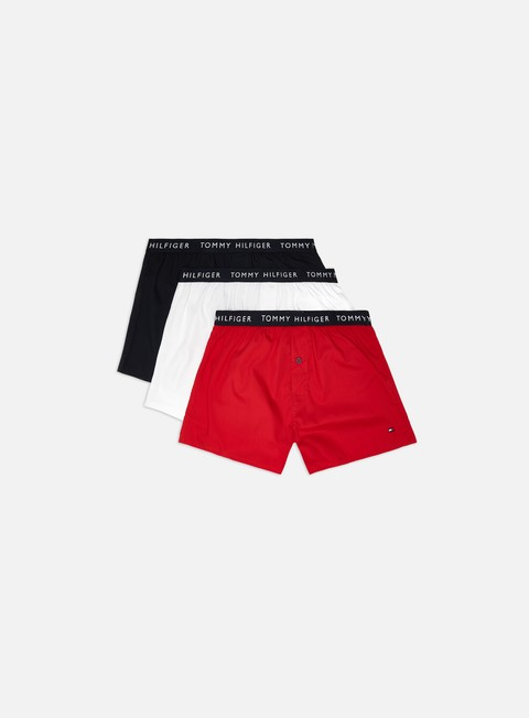 Boxer Tommy Hilfiger Underwear Recycled Cotton Trunk 3 Pack