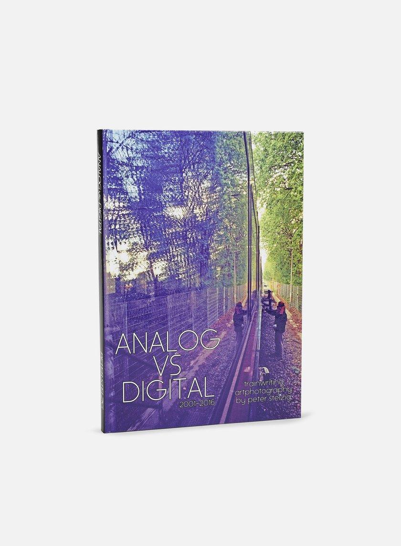 Analog vs Digital - Trainwriting Artphotography 2001-2016