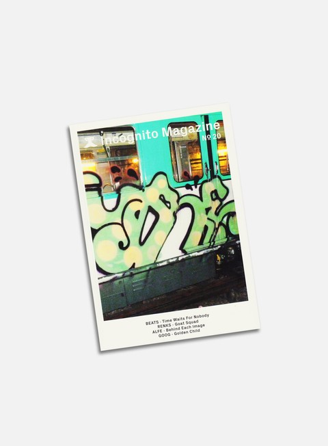 Graffiti & Street Art Magazines   Incognito 20