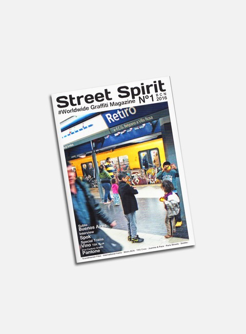 Graffiti & Street Art Magazines   Street Spirit 1