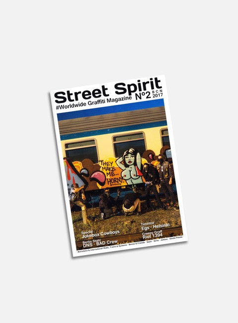 Graffiti & Street Art Magazines   Street Spirit 2