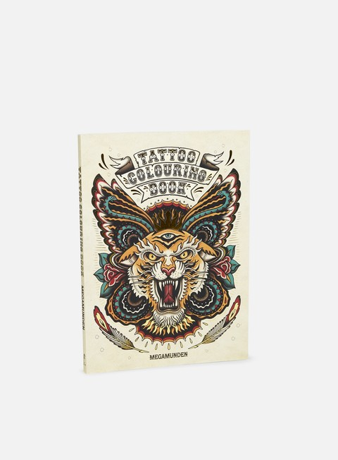 libreria tattoo colouring book