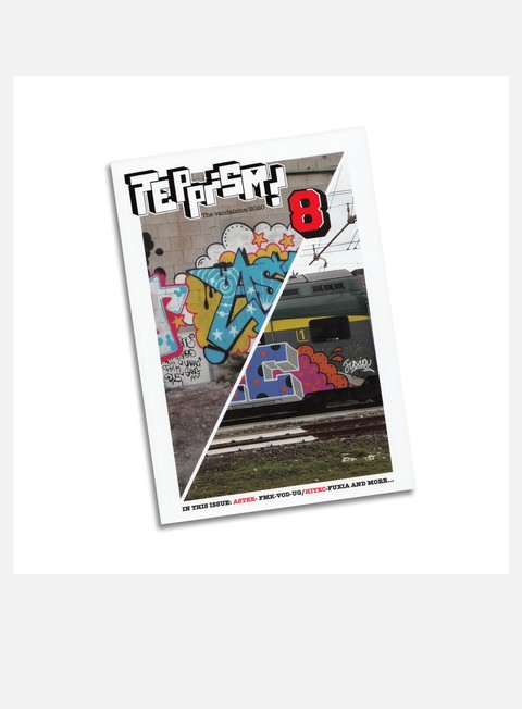 Graffiti & Street Art Magazines  Teppism Zine 8