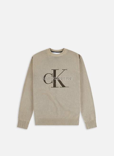 Crewneck sweaters Calvin Klein Jeans Embroidery Monogram Sweater