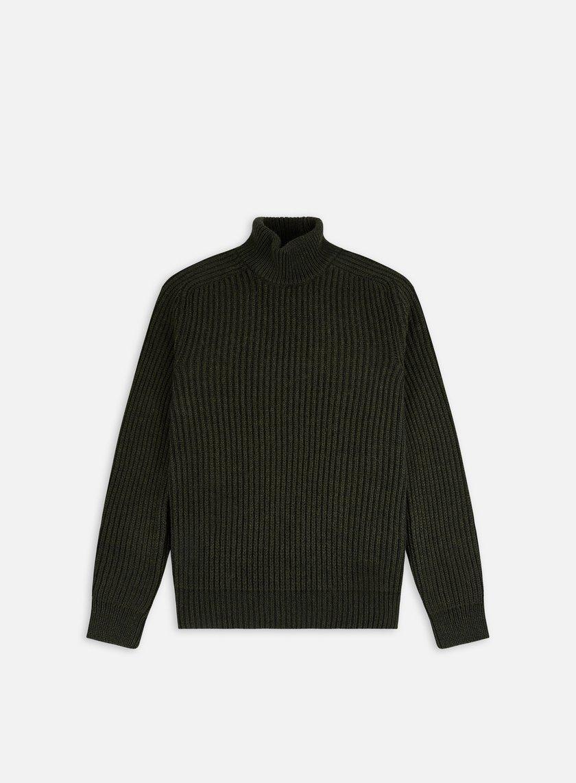 Edwin Roni High Collar Sweater