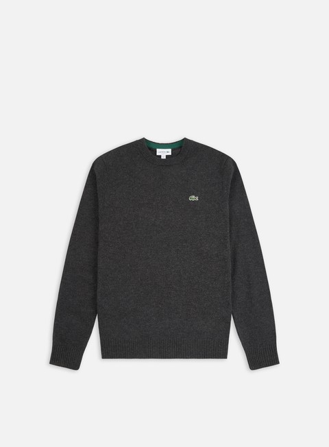 Lacoste Crew Neck Wool Sweater