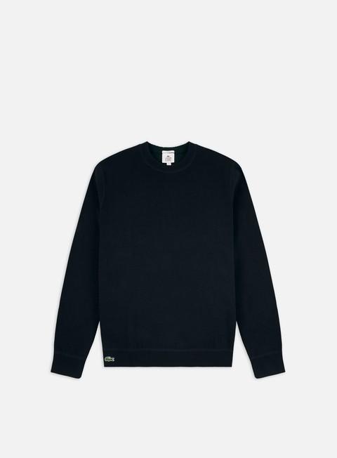 Maglioni girocollo Lacoste Live Striped Double Face Jersey Sweater