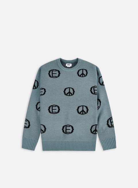 Crewneck sweaters Obey Discharge Sweater