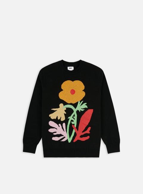 Outlet e Saldi Maglioni girocollo Obey Traces Sweater