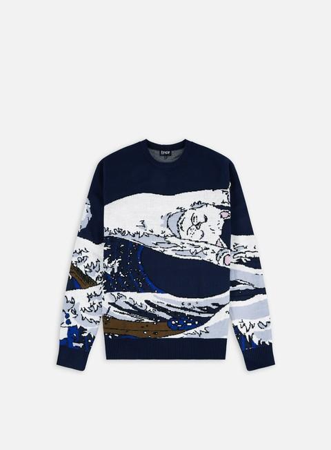Crewneck sweaters Rip N Dip Great Wave Sweater