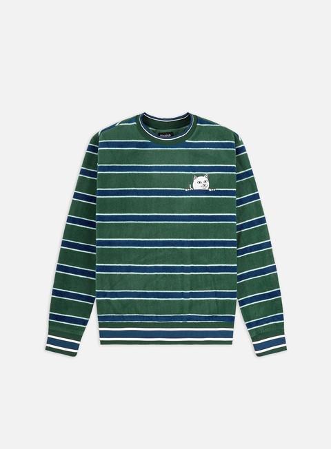 Crewneck sweaters Rip N Dip Peeking Nermal Polar Fleece Sweater