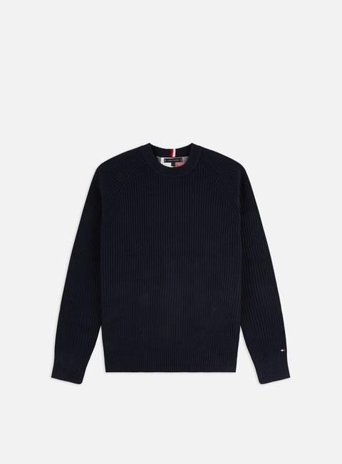 Outlet e Saldi Maglioni girocollo Tommy Hilfiger Classic Rib Sweater