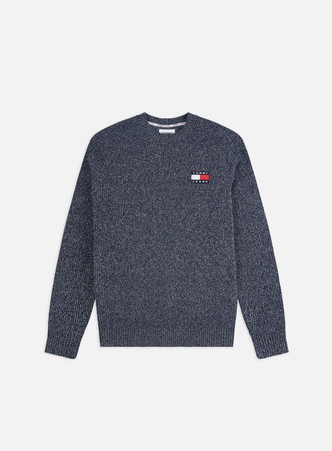 Outlet e Saldi Maglioni girocollo Tommy Hilfiger TJ Tommy Badge Texture Sweater