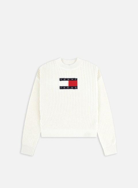 Crewneck sweaters Tommy Hilfiger WMNS TJ Center Flag Sweater