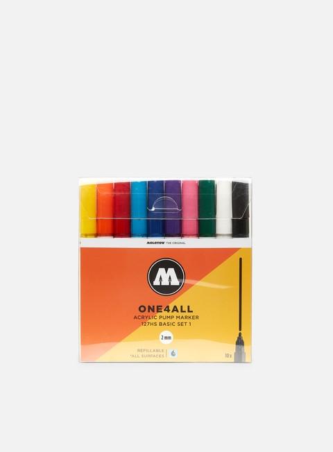marker molotow 127 hs basic set i 10 pz
