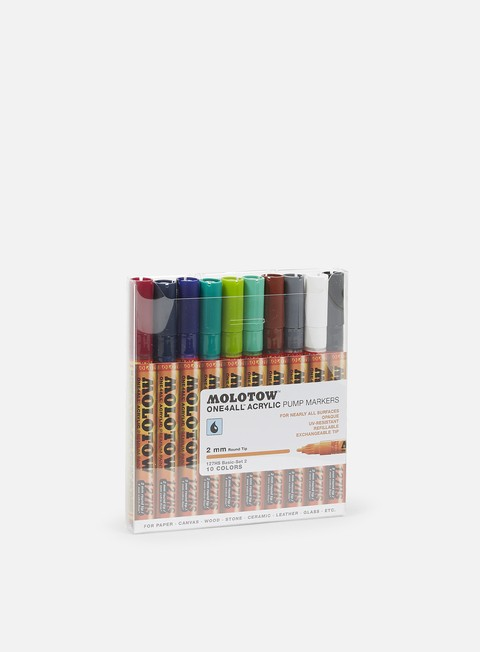 Fine Art Markers Molotow ONE4ALL 127 HS Basic Set II 10 pcs
