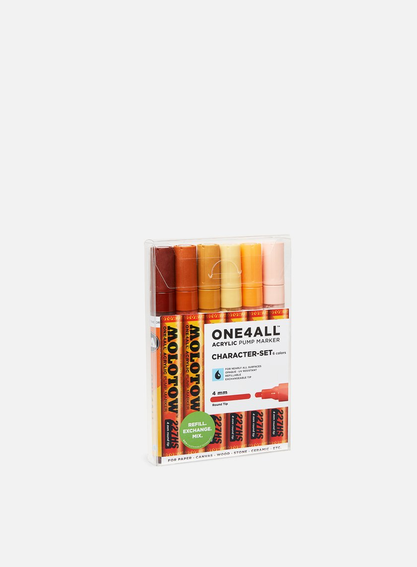 Molotow ONE4ALL 227 HS Character Set 6 pz
