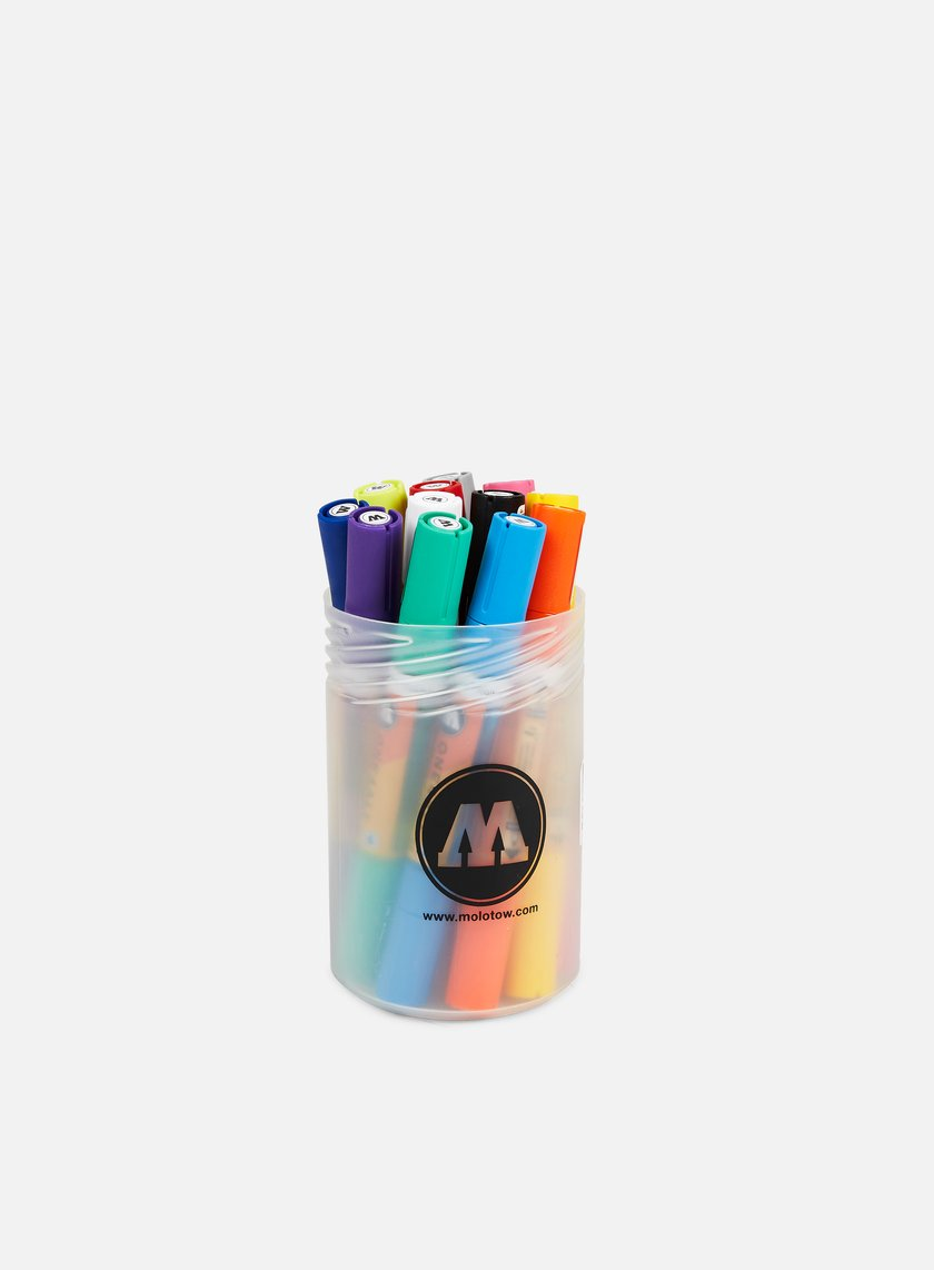 Molotow ONE4ALL Acrylic Twin Main Kit I