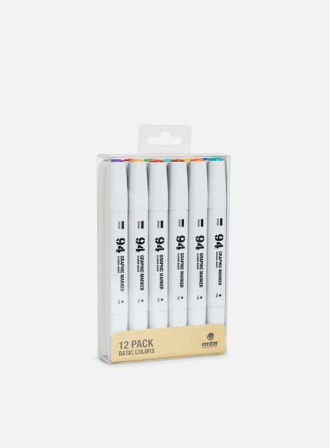 marker montana 94 graphic marker set 12 pz basic