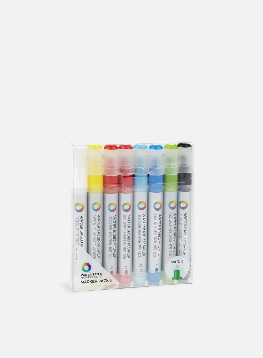 Montana Water Based Marker 3 mm Pack 8 pz