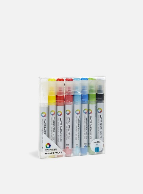 Marker per Belle Arti Montana Water Based Marker 5 mm Pack 8 pz